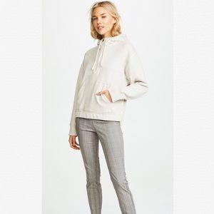 NWT VINCE Half Zip Pullover Hoodie Sweatshirt